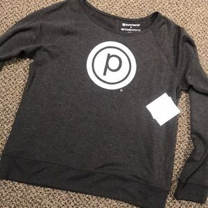 BY + Pure Barre pullover
